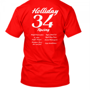 Holliday Racing T-Shirt