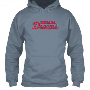 Indiana Dreams Logo Moisture Wicking Hoodie