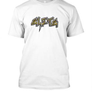 Elite softball Tee Shirts – White, XL