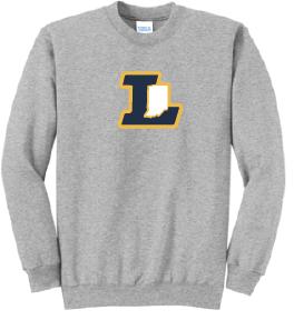 """Indiana Legends """"L"""" Crewneck Sweatshirt"""