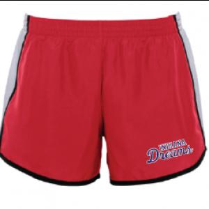 Dreams red shorts
