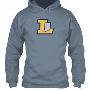hoodie grey L