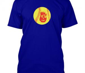 softball face shirt